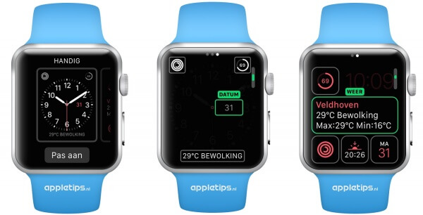 complicaties Apple Watch