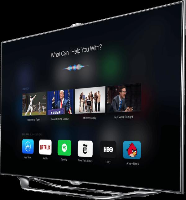 Apple TV concept met iOS 9