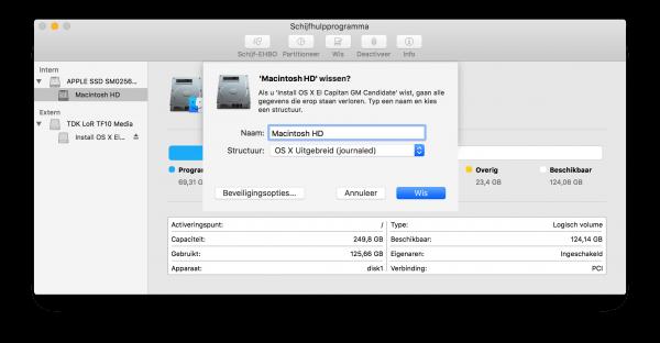 Macintosh HD wissen