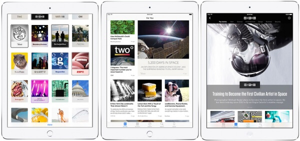 news iPad ios 9
