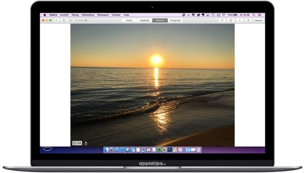 Live Photos bekijken Mac