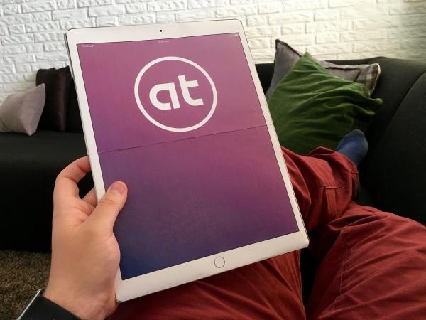 papieren versie van de iPad Pro