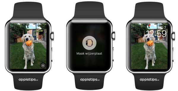 Live photos Apple Watch