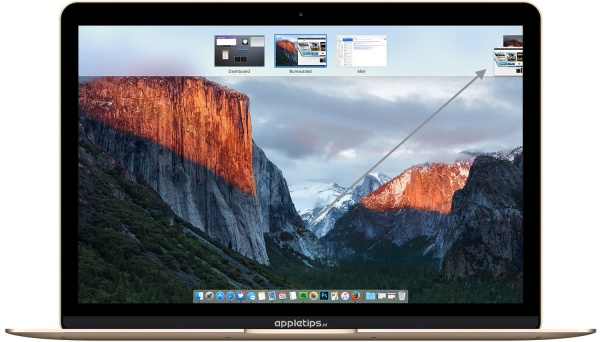 Nieuw bureaublad OS X El Capitan