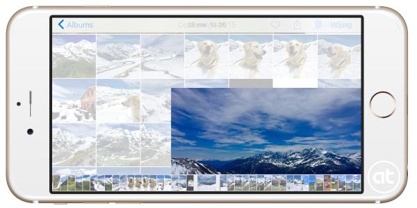 Foto's verbergen iOS 9