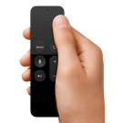 Apple TV afstandsbediening icoon