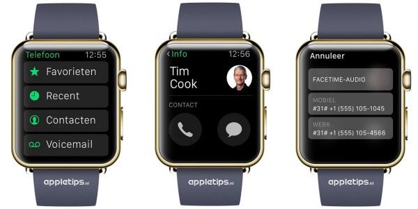 Facetime audio Apple Watch