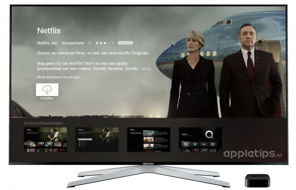 Apps installeren op een Apple TV 4