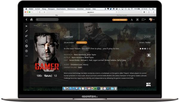 Plex server op een mac