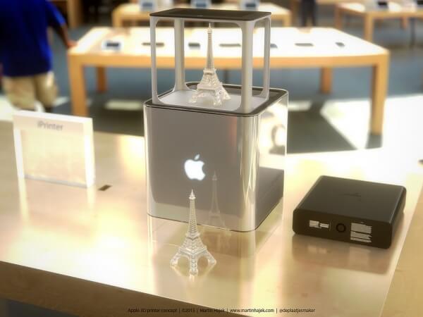 iPrinter Apple van 3D