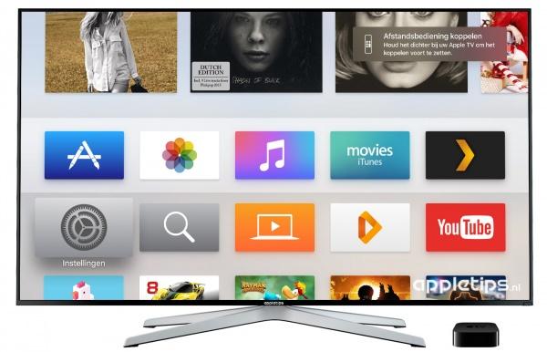 Apple TV Afstandsbediening herstellen