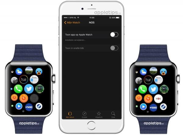 Apple watch apps installeren oplossen