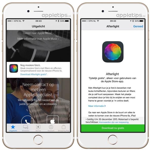 afterlight downloaden iPhone apple store