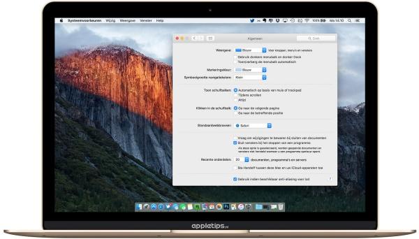 Handoff uitschakelen OS X