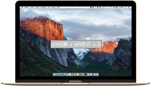 Schermafbeelding (screenshot) maken op Mac (OS X)