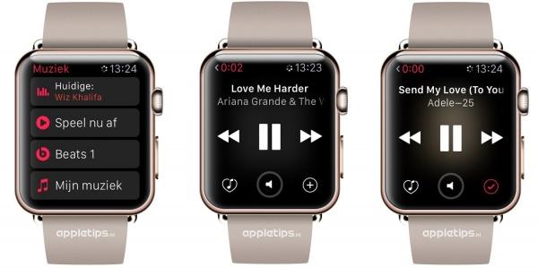 Speel nu af Apple Watch