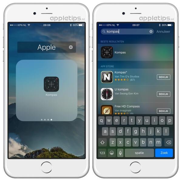 Apps verbergen in iOS, doe je met deze handeling