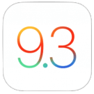 iOS 9.3 icoon iOS 9.3.3