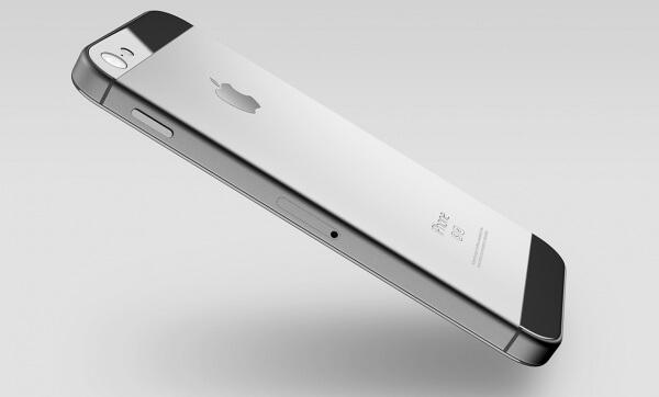 iphone 5se concept zijkant