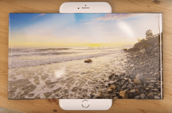 iPhone 7 met widescreen scherm