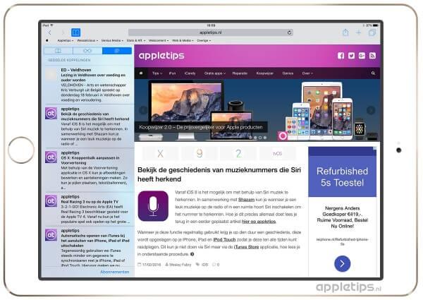 Koppelingen in iOS