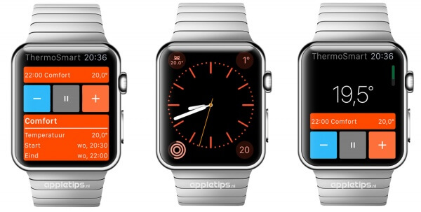 ThermoSmart app voor de Apple Watch