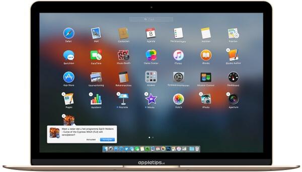 apps verwijderen uit Launchpad