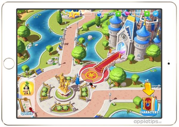 Disney Magic Kingdoms gameplay
