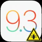 iOS 9.3 bugs logo