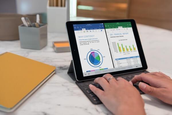 iPad Pro 9,7 inch met smart keyboard