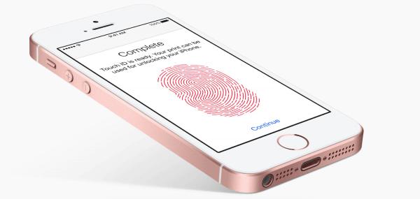 iPhone SE rosegoud
