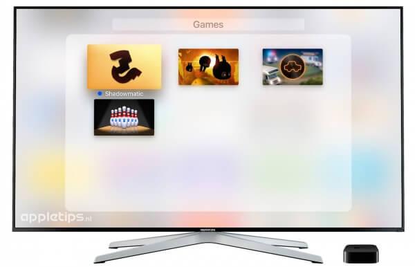 Mappen en folders maken op Apple TV