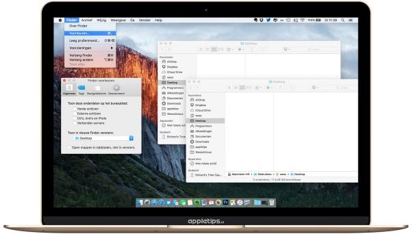mappen openen nieuw venster ipv tabblad