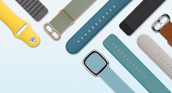 Nieuwe Apple Watch bandjes voor 2016 spring