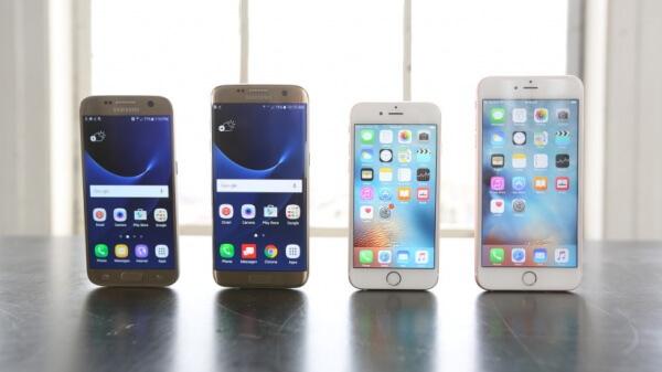 squaretrade test samsung galaxy S7 en iPhone 6s
