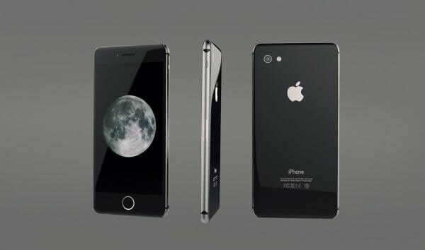 iPhone concept met glazen behuizing
