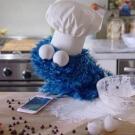 commercial cookie monster en Siri