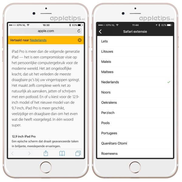 Microsoft Translator gebruiken om websites te vertalen