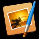 Pixelmator voor Mac logo