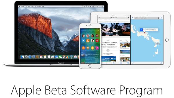 OS X 10.11.5 beta 2 en iOS 9.3.2 beta 2 beta programma promotie