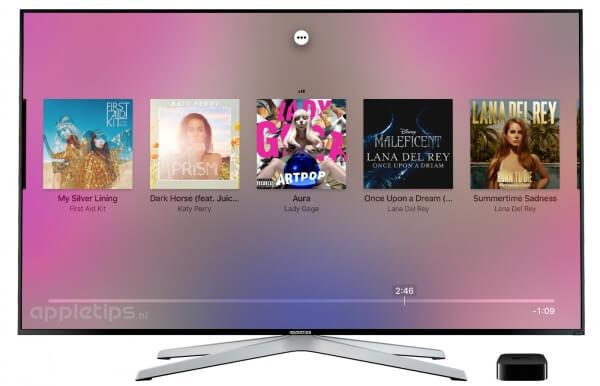 Apple Music extra muziek opties activeren