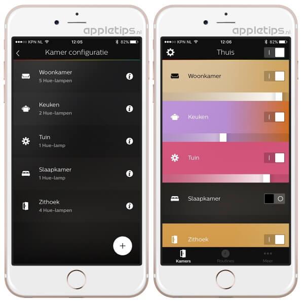 Nieuwe Philips Hue 2.0 app