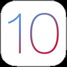iOS 10 logo concept functies