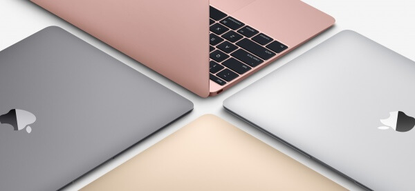 Macbook 12-inch rosegoud