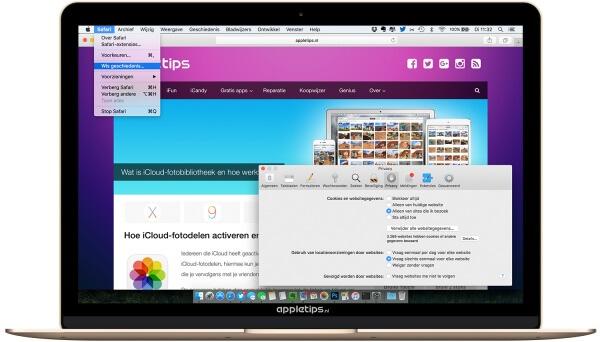 Problemen en bugs met Safari oplossen in OS X 10.11.4