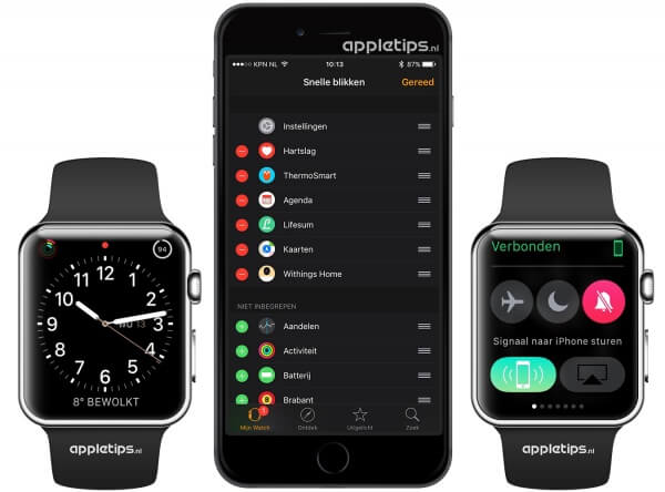 Signaal of led-flits afspelen op je iPhone via de Apple Watch