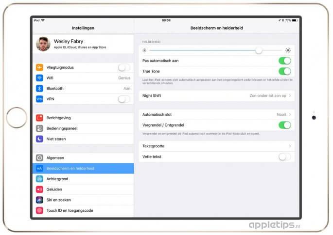 iPad ontgrendelen met de smart cover