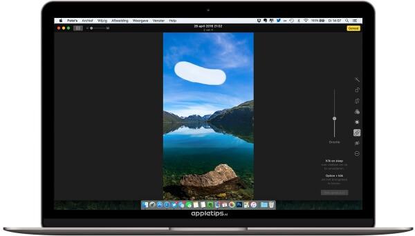 Foto's retoucheren in OS X