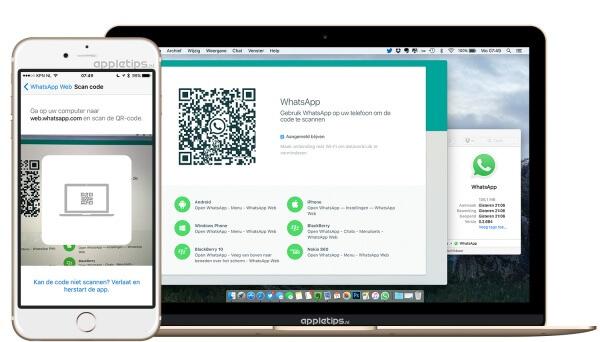 whatsapp installeren desktop-app voor Mac en Windows
