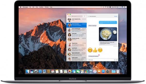 Berichten in macOS